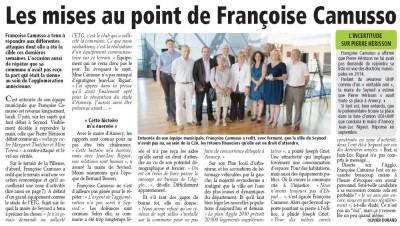 Essor Savoyard 2013/06/20 Françoise Camusso
