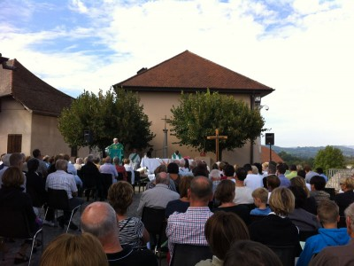 Messe en plein air - Fête du Vieux Seynod 2014