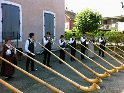 Cors des Alpes - Fête du Vieux Seynod 2014