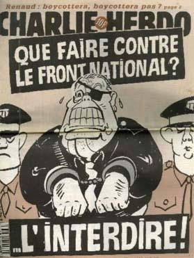 Plutôt que vouloir interdire le FN, Charlie Hebdo aurait mieux fait de l'écouter.