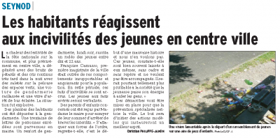 Le Dauphiné du 18/07/2015 par Christian Philippe-Janon