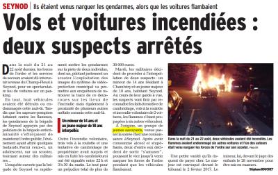 Le Dauphiné du 16/09/2016
