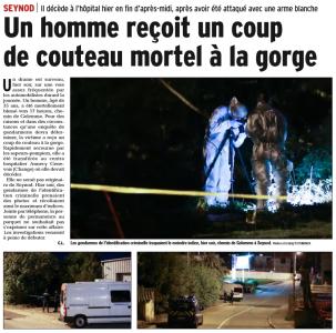 Le Dauphiné du 03/10/2016