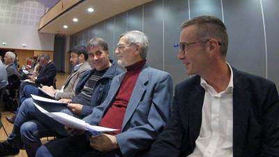 Thomas Noël (Annecy), Jean-Luc Fol (Pringy), Alain Fischer (Cran-Gevrier) et Olivier Burlats (Seynod)