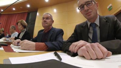 Yves Lubacha et Olivier Burlats